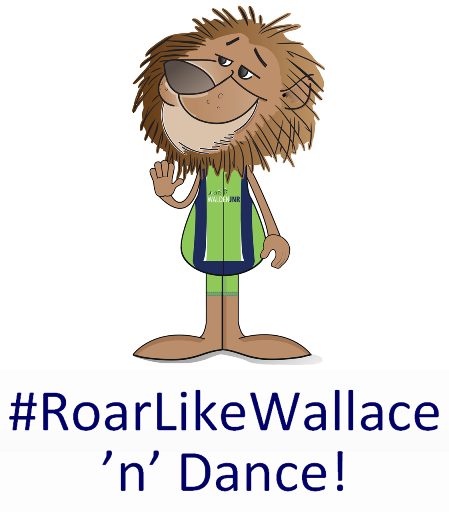 #RoarLikeWallace: Are you going to dance?